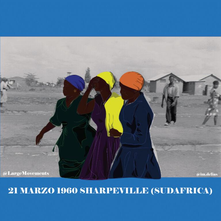 21 marzo 1960 Sharpeville discriminazione